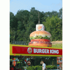 Inflatable Burger