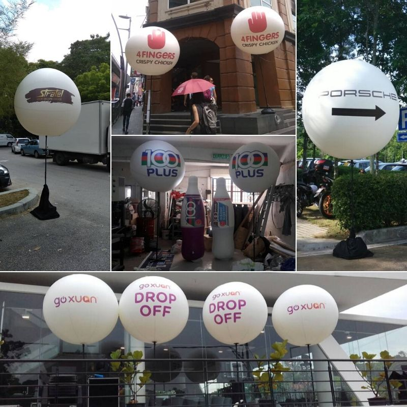 Lighted Balloon Stand