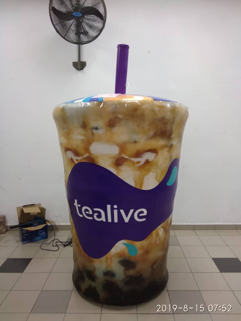 Tealive Inflatable Replica