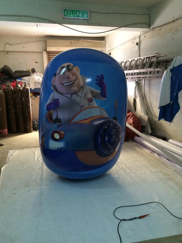 Inflatable Roly Poly